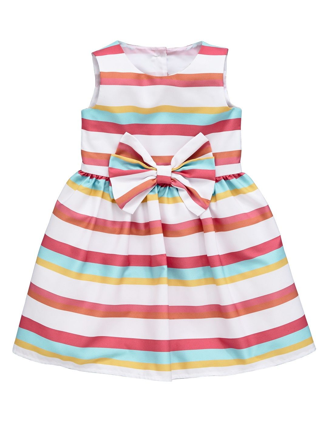 Ladybird Girls Stripe Bow Dress   woolworths.co.uk   baby clothes ...