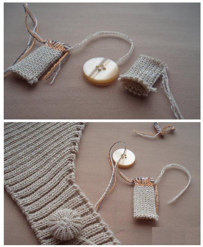Forrar Botones con Trozos de Crochet - Patrones Crochet   Punto ...