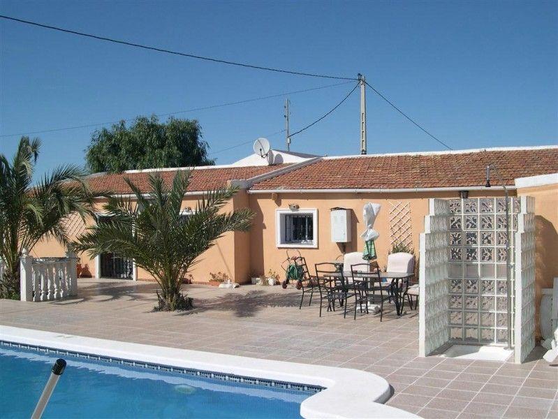 Finca For Sale In El Realengo Next To Crevillente Campo Costa Blanca