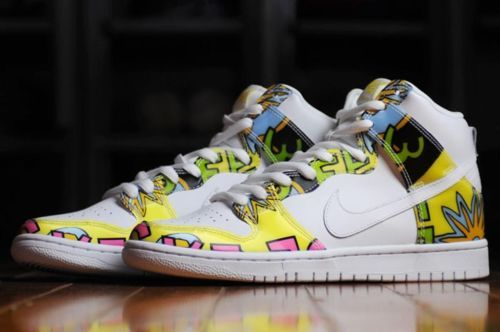 huge discount fa668 24b5c Nike-SB-Dunk-High-PRM-DLS-QS-Sz-14-De-La-Soul-White-Jordan ...