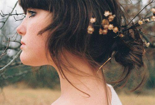 Peinado de novias originales.