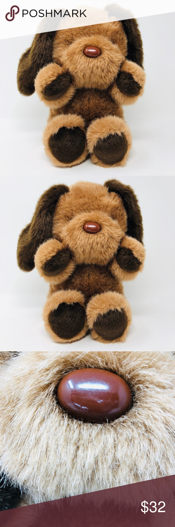 Vintage Fordlet Plush Puppy Dog Dogs And Puppies Puppies Plush [ 1740 x 580 Pixel ]
