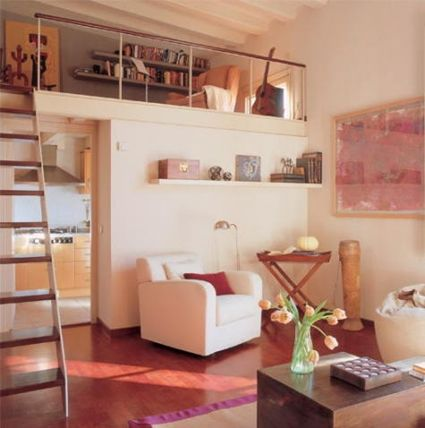 Habitaciones a doble altura habitaci n peque a - Decorar habitacion pequena ...