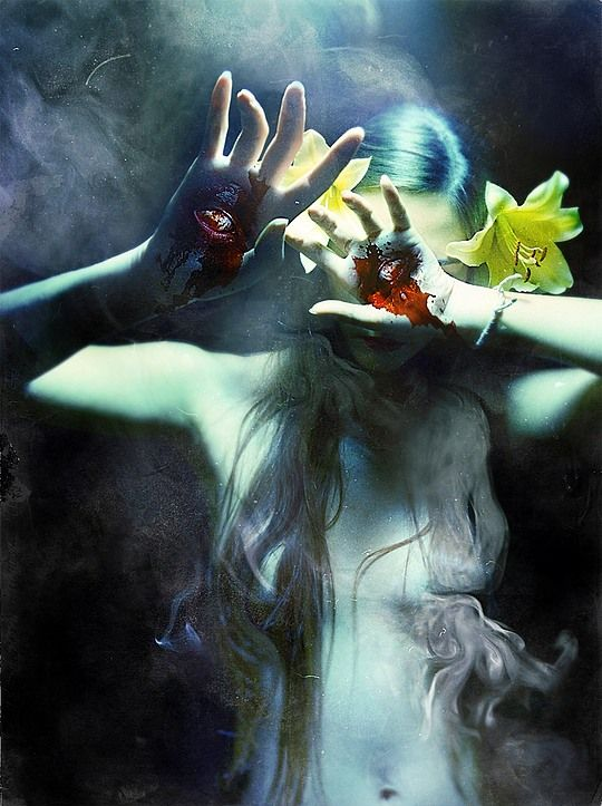 Creepy Photo Manipulations by Diana Dihaze