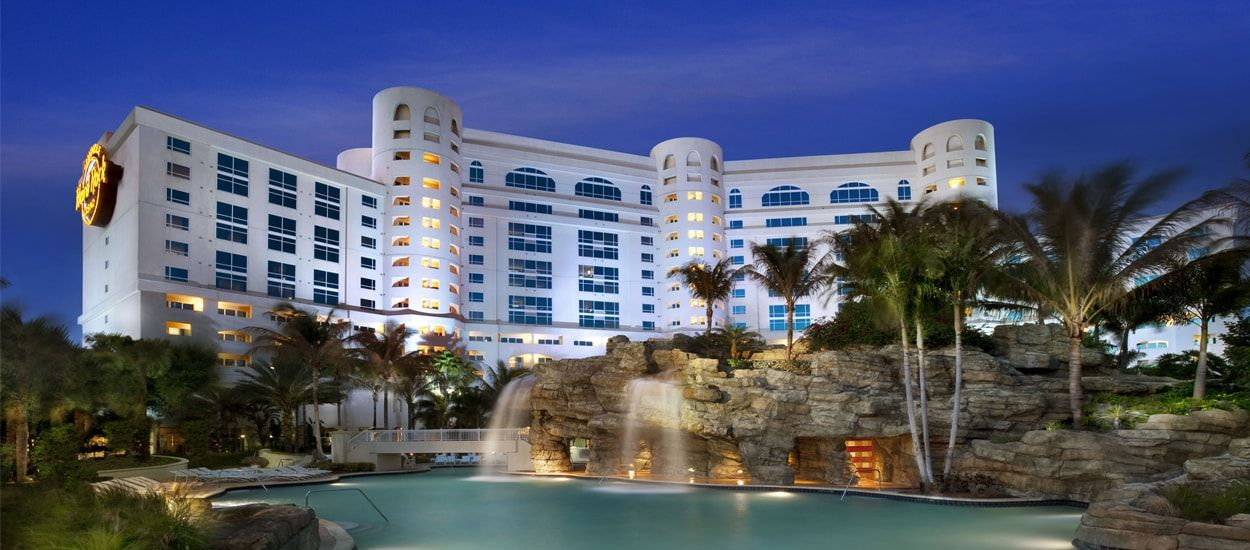 Our Pre Cruise Hotel Is The Beautiful Hard Rock In Hollywood Fl