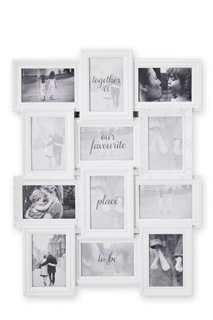 Buy White 12 Aperture Ornate Frame from the Next UK online shop ...