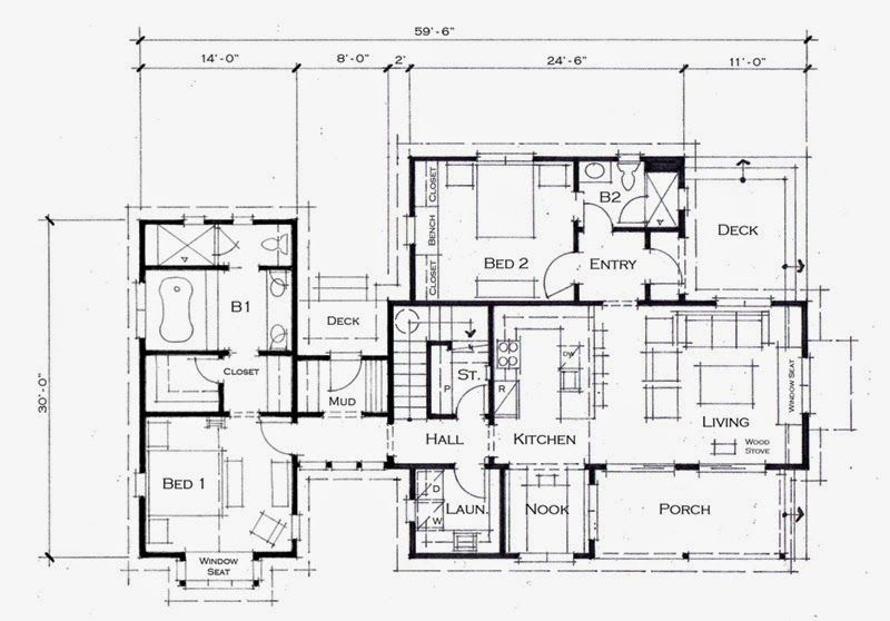 Planos casas de madera prefabricadas planos casas de for Habitaciones prefabricadas precios