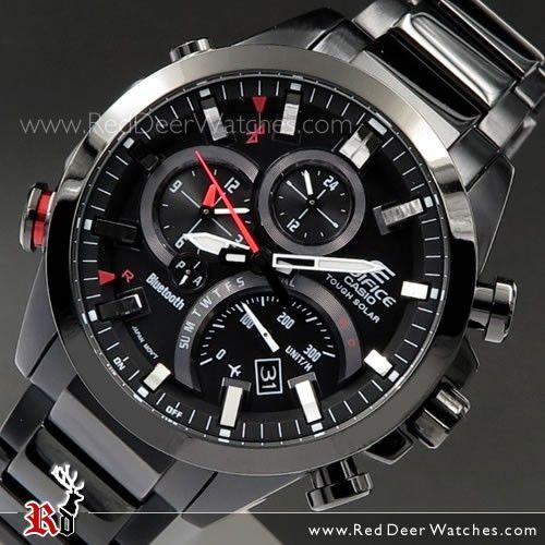 Casio Edifice Eqb 500 Men S Watches All Black Watches Casio