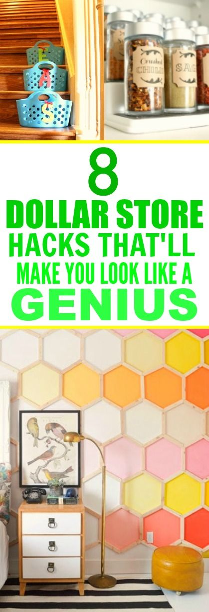 8 Dollar Store Hacks That Are Borderline Genius