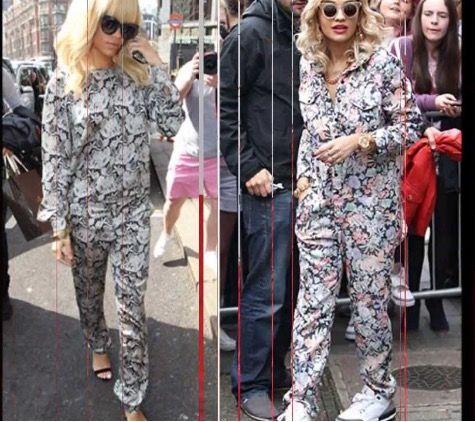 Rita Ora very stylish