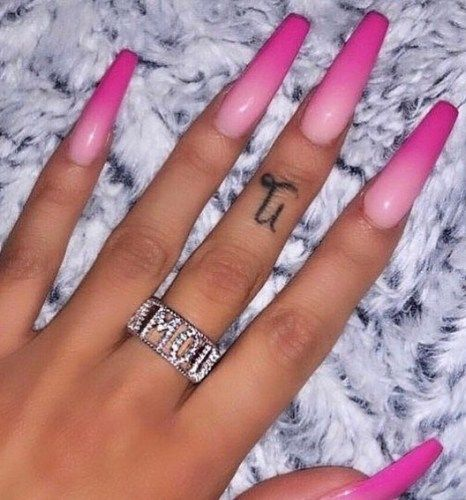 40 Amazing Ombre Gradient Nails Ideas 2020 Selectedins In 2020 Pink Ombre Nails Pink Acrylic Nails Pretty Acrylic Nails