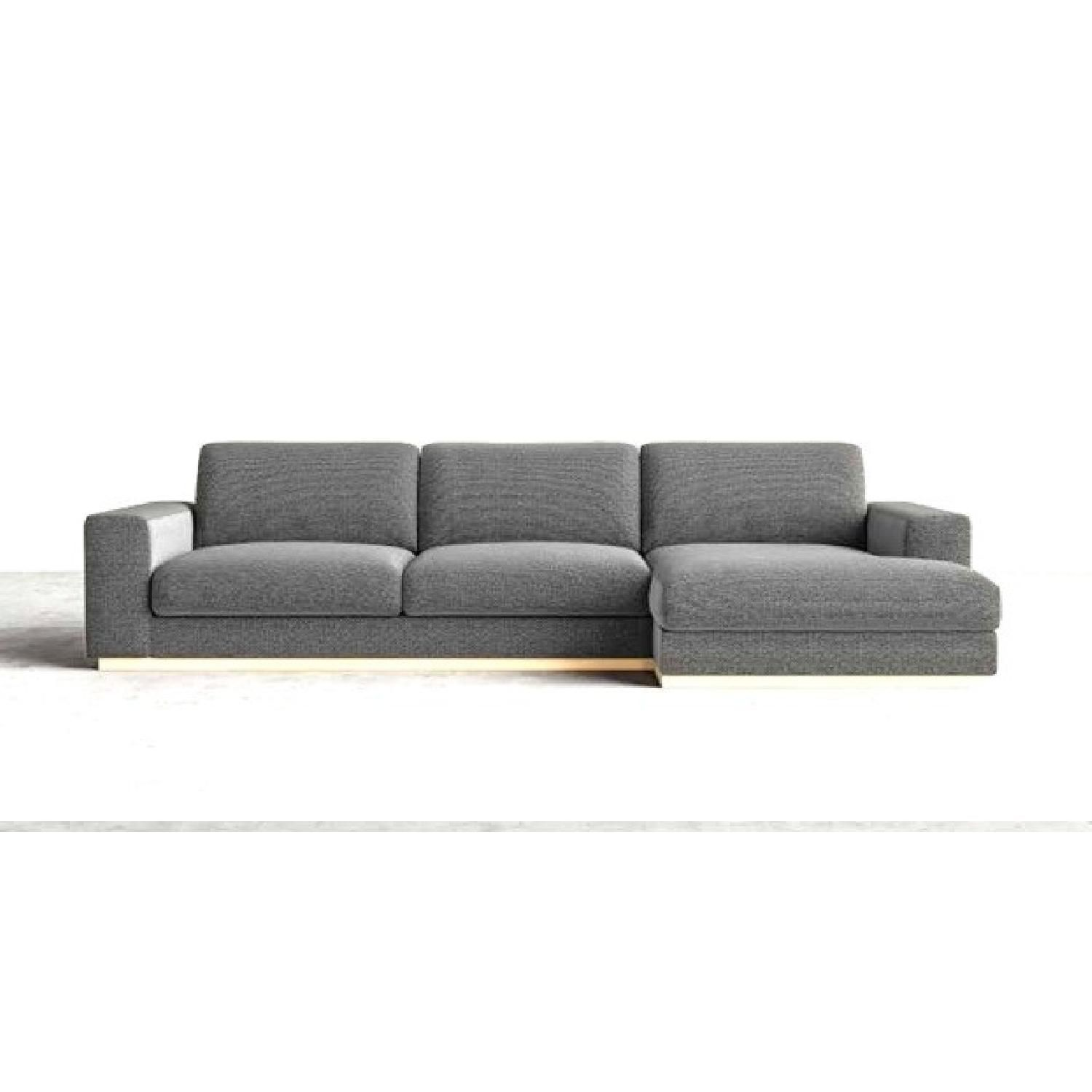 This Is A Rove Concepts Noah 2 Piece Sectional Sofa For $1,800.00. HEY GUYS