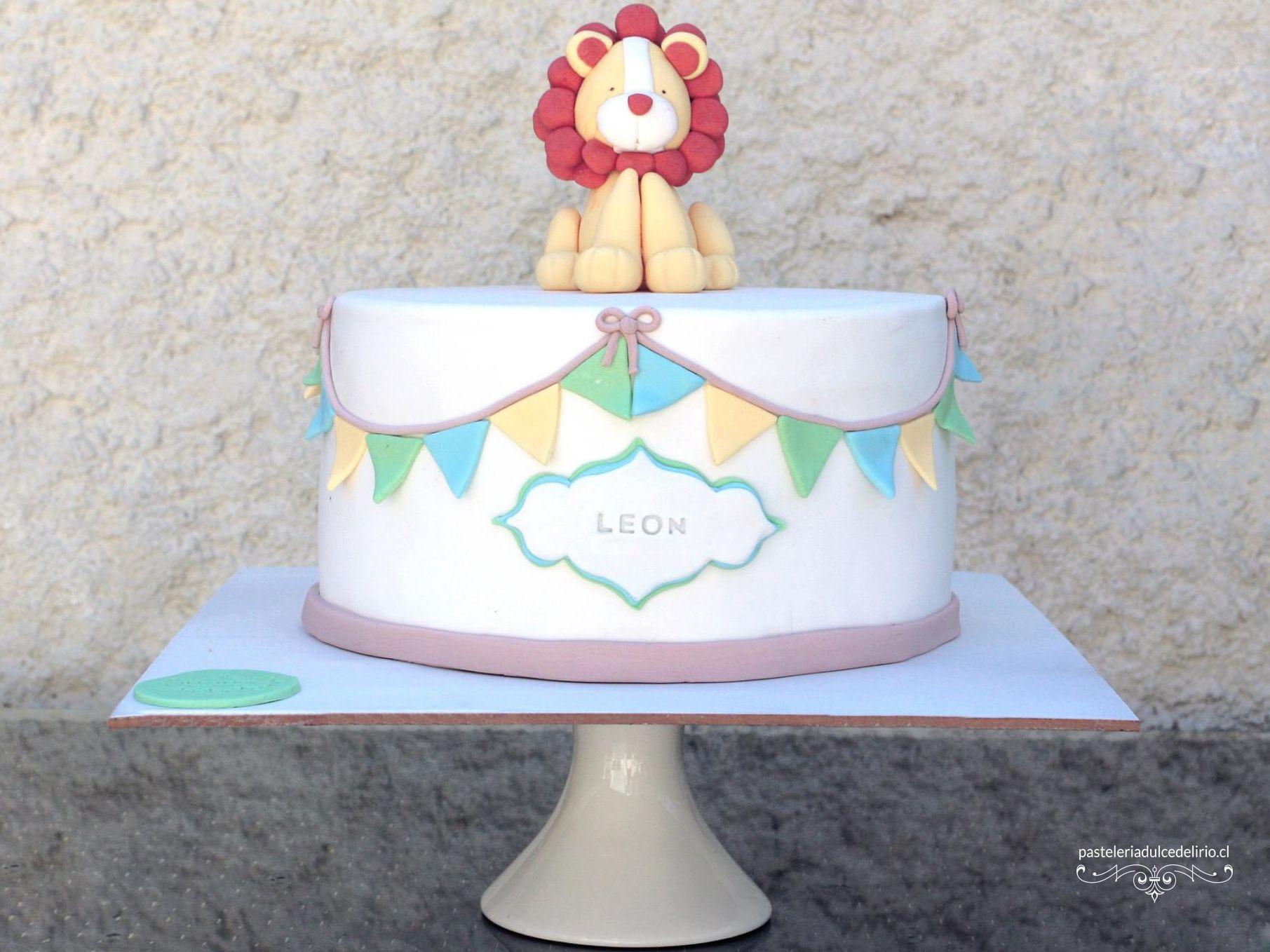 Tortas Decoradas Baby Marcel En 2019 Tortas Leones Y