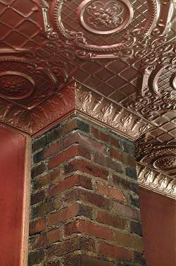 Tin Ceilings Reproduction Tin Ceilings Old House Web Tin Ceiling Ceiling Tiles Tin Panel