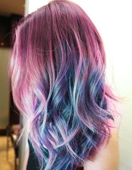 Multi Color Hairstyles Ideas 2018 Mode Ideas Hair Styles Hair Inspiration Color Hair Color Crazy