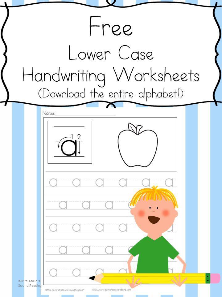 26 Free Printable Handwriting Worksheets Easy Download