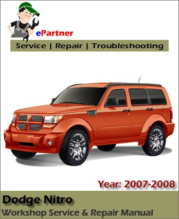 download dodge nitro service repair manual 2007 2008 dodge service rh pinterest com 2010 dodge nitro repair manual pdf 2010 dodge nitro repair manual pdf