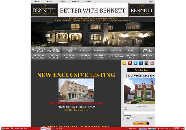 Http Bennettpros Com Via Url2pin Real Estate Web Design Real Estate Property