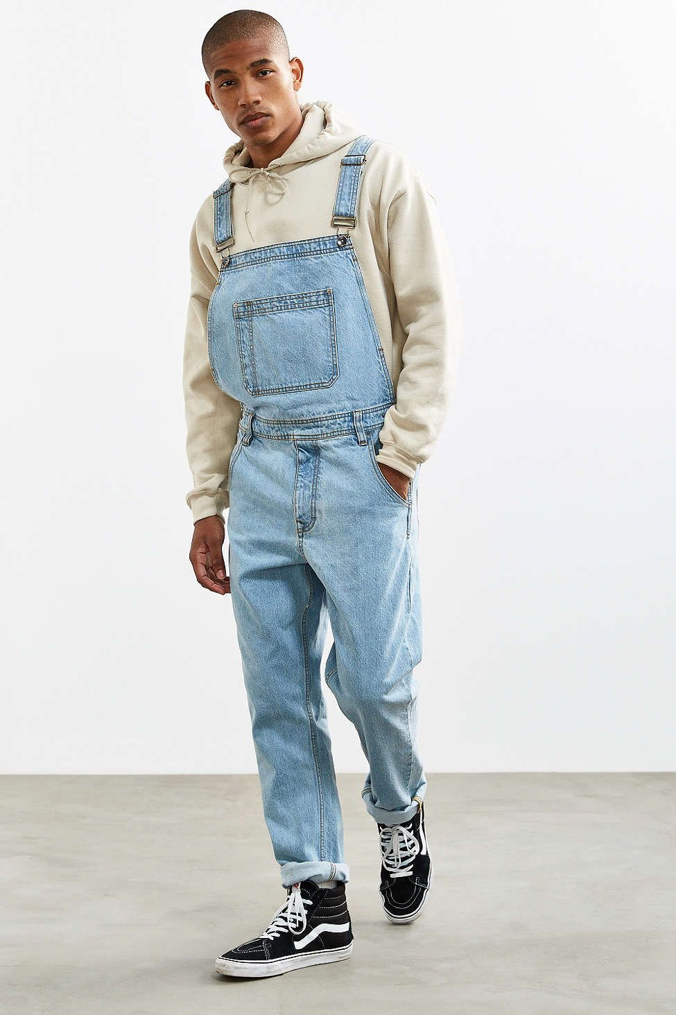 BDG Light Stonewash Denim Overall | Overalls fashion ...