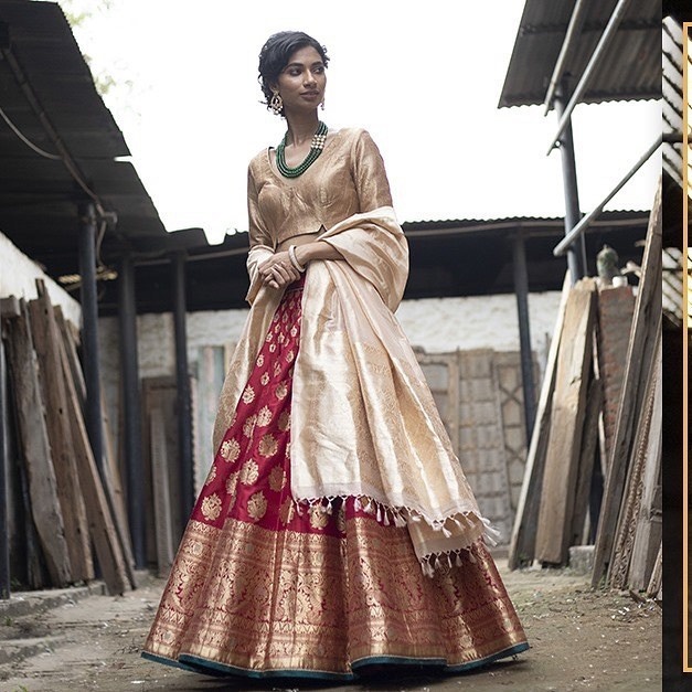 Photo of Best Labels To Buy Banarasi Sarees And Lehengas From!