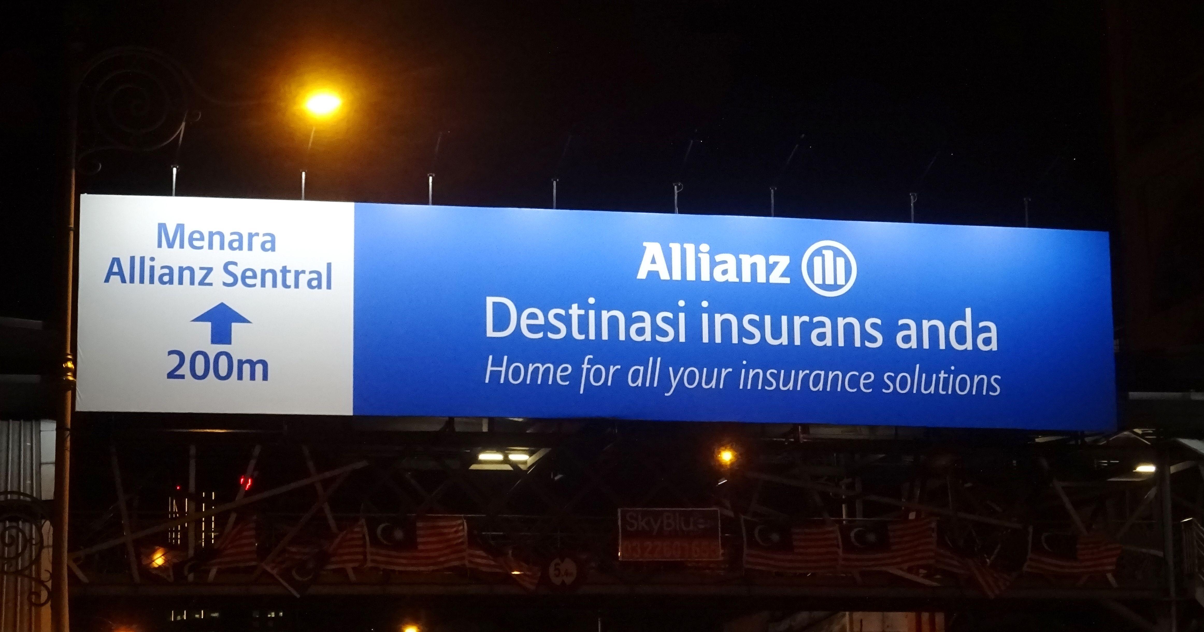 Skyview Unipole Pedestrian Bridge Billboard Advertisement