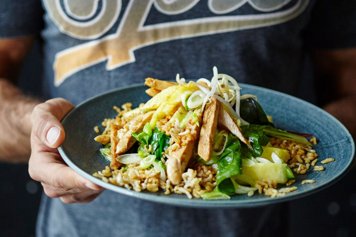 Joe wicks chicken and pineapple fried rice recipe joe wicks joe wicks is giving sun readers an exclusive look at his new recipes and fave exercises forumfinder Gallery