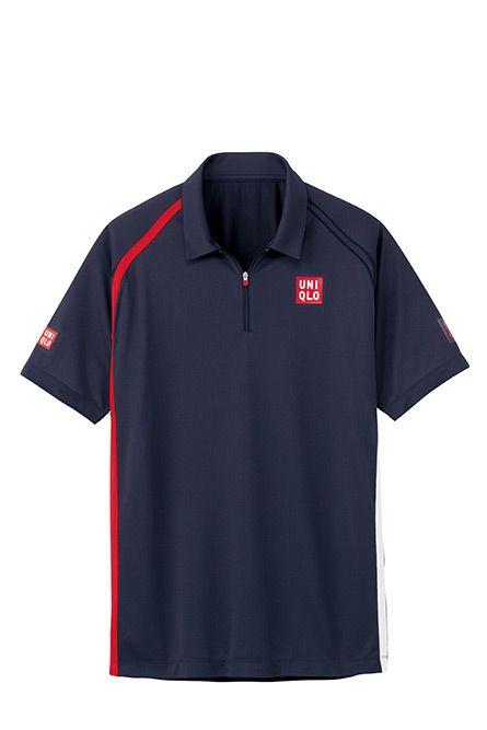 Uniqlo Novak Djokovic Performance Tennis Wear Collection Tennis Wear Tennis Clothes Men Tennis Clothes