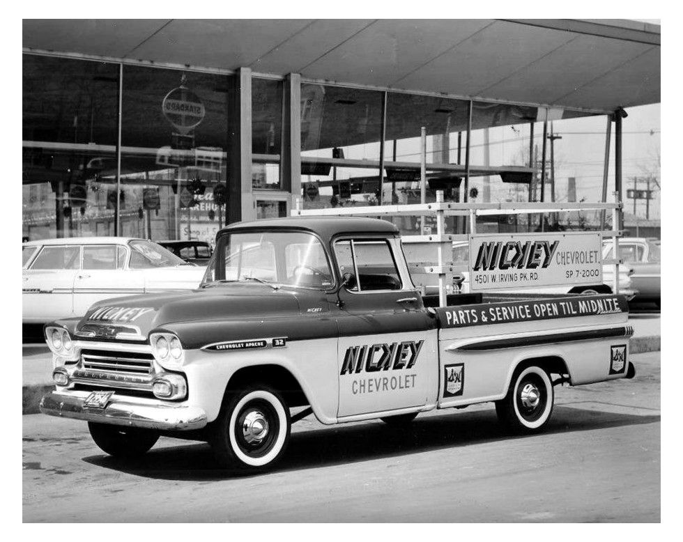 Nickey Chevrolet 1959 Chevy Apache Shop Truck Chevrolet