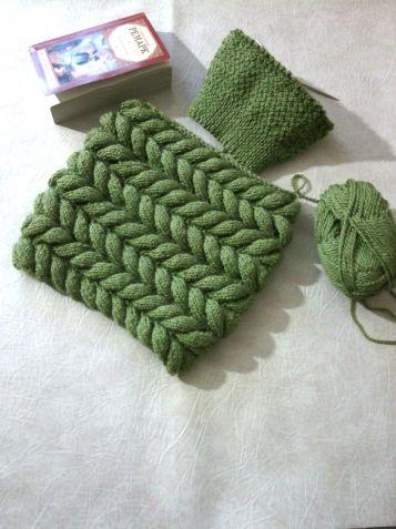 узор азиатский колосок вязание по кругу спицами Knitting