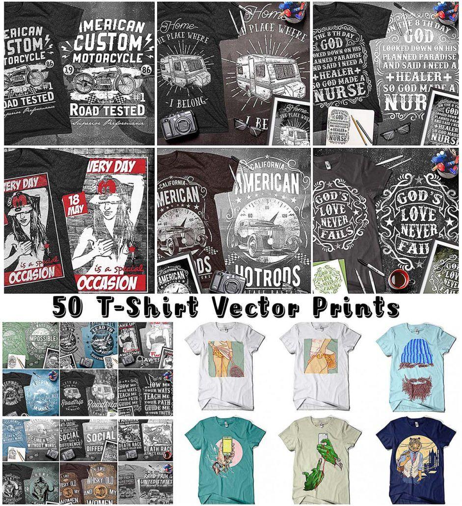 50 T Shirt Prints Vectors Free Download Free T Shirt Design Free Tshirt Tshirt Designs