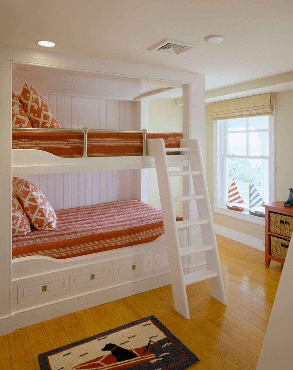Built in loft bed ideas  YourChildWillLoveTheseBunkBedsWithStairs Bunk Bed Ideas For