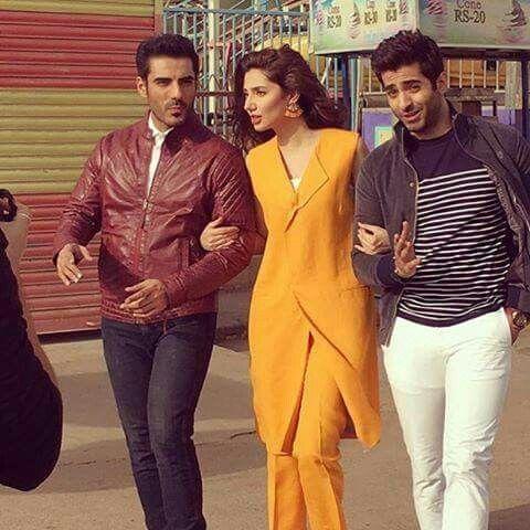 Mahira Khan, Adeel Hussain and Shaharyar Munawar | Fashion