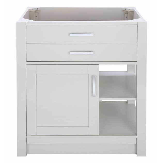 Shop Allen Roth Chanceport Specialty Grey Transitional Bathroom - Lowe's canada bathroom vanities for bathroom decor ideas