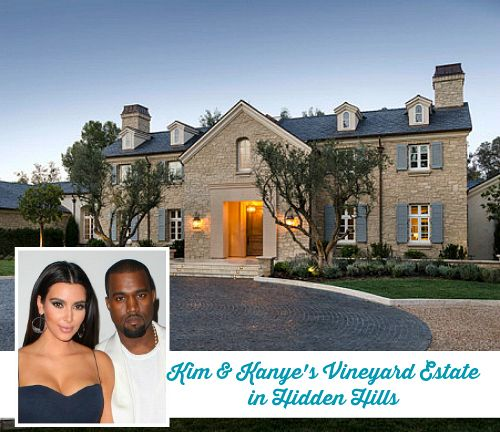Kim Kardashian And Kanye West S New House In Calabasas Kim Kardashian Home Kardashian Home Celebrity Houses