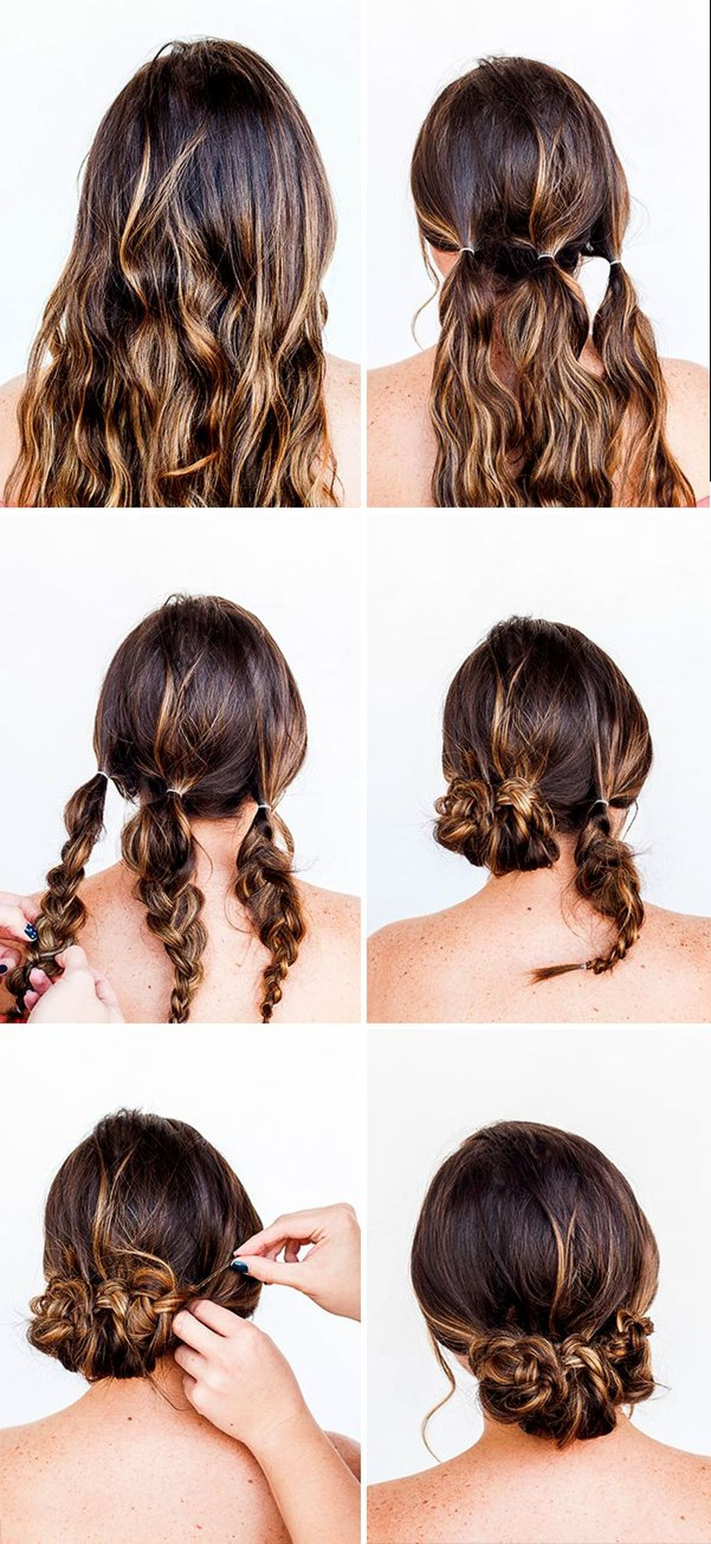 Simple hairstyle tutorials for all occasions  also pin by desirae alvarado on hair cut and styles pinterest rh