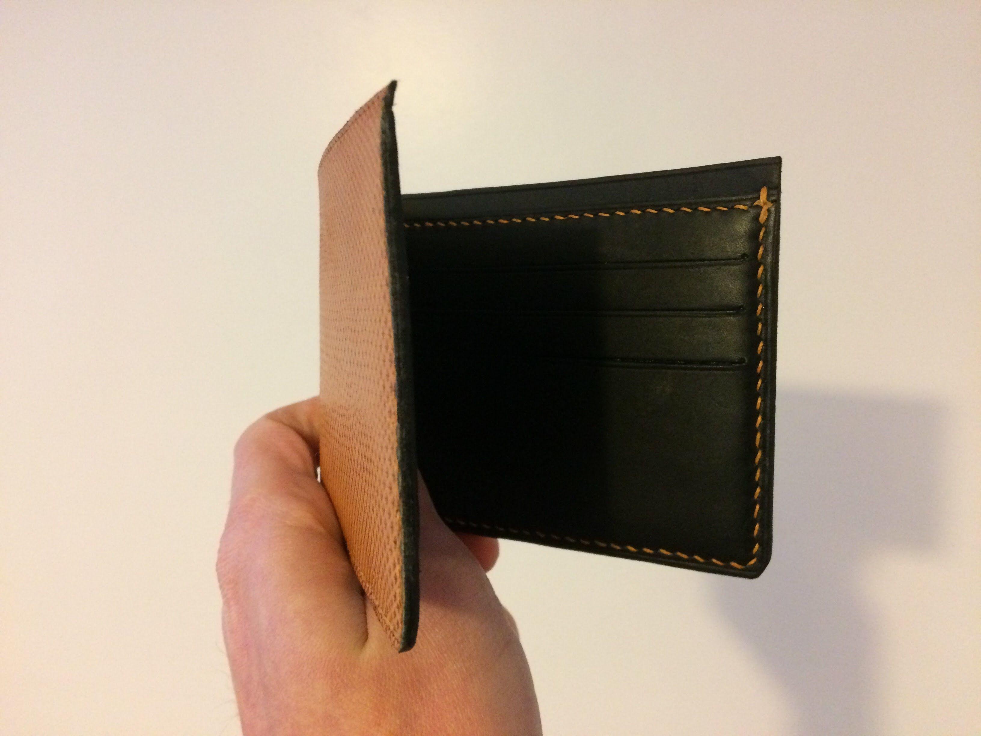 Porte Cartes En Cuir Fait Main Portes Cartes En Cuir Fait Main