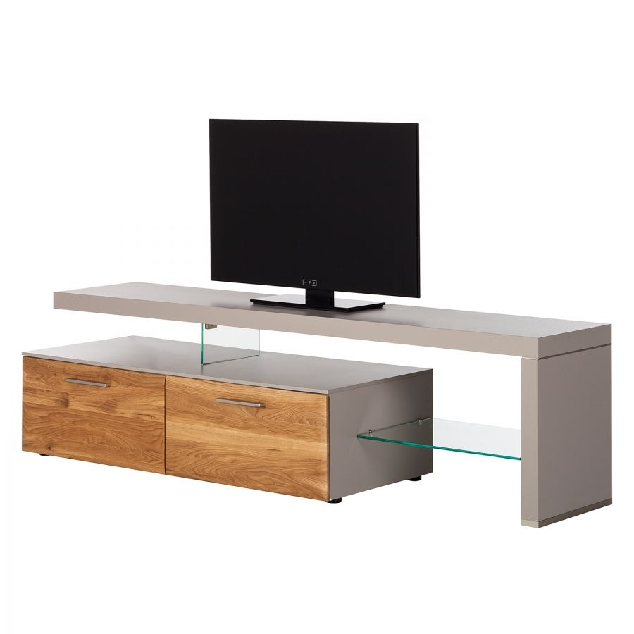 Fesselnde Eck Fernsehschrank Dekoration Von Tv-lowboard Solano I - Ohne Beleuchtung -