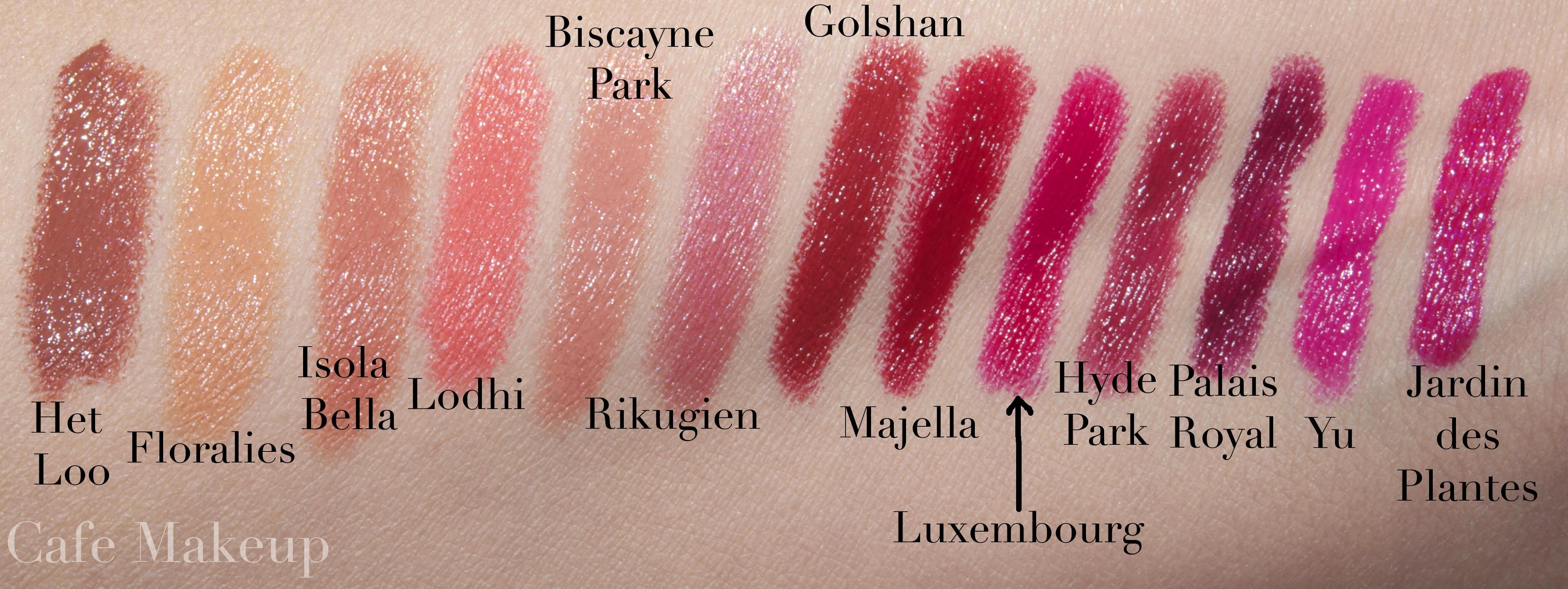 Nars Satin Lip Pencils swatches | Cosmetics // Color // Swatch ...