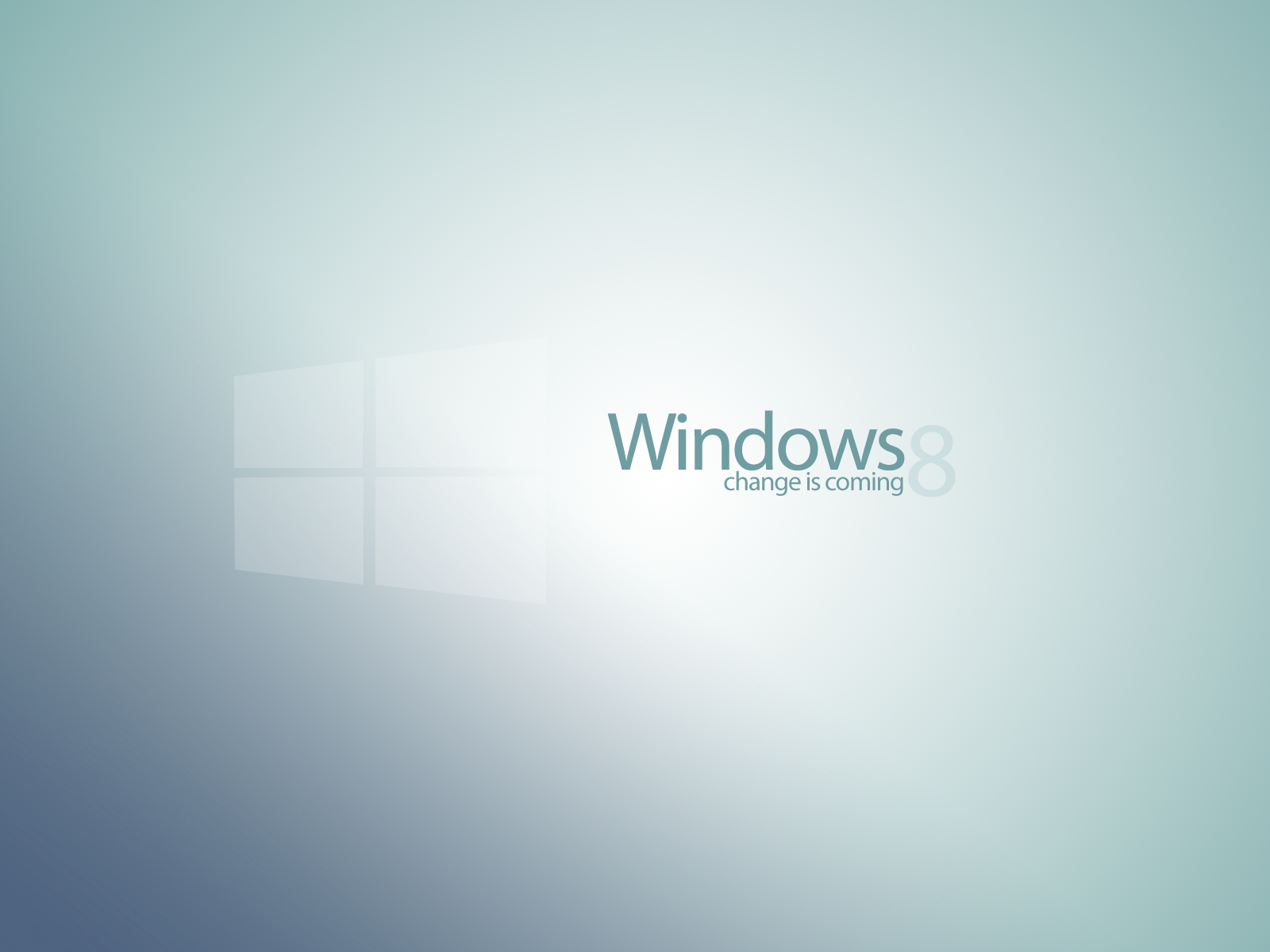 windows 8 concept new logo wallpaper #3danielskrzypon on