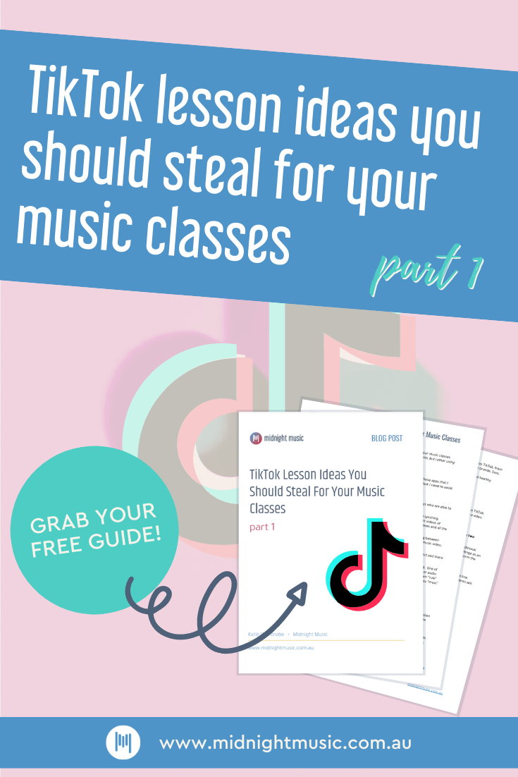 Tiktok Lesson Ideas You Should Steal For Your Music Classes Part 1 In 2021 Elementary Music Class Elementary Music Teaching Music