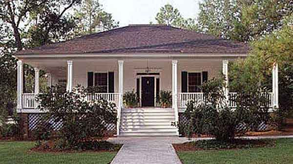 This House Is An Example Of A Hip Roof All Four Sides