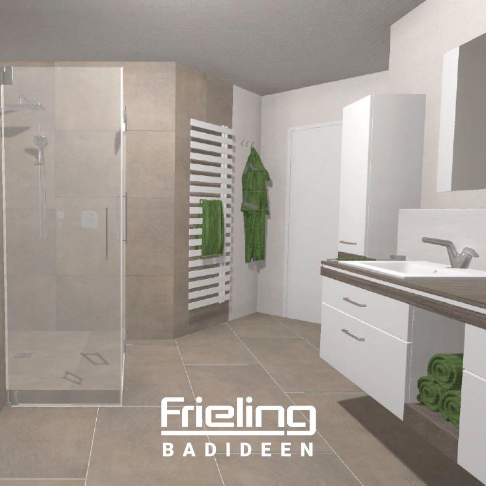 Das Grosse Familienbadezimmer Ansicht Dusche Heizkorper Badmobel Grosse Badezimmer Grosse Dusche Badgestaltung
