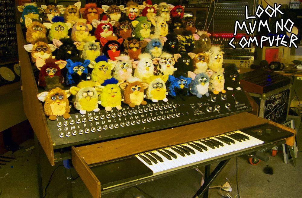 STUFF LOOK MUM NO COMPUTER Furby, Diy electronics