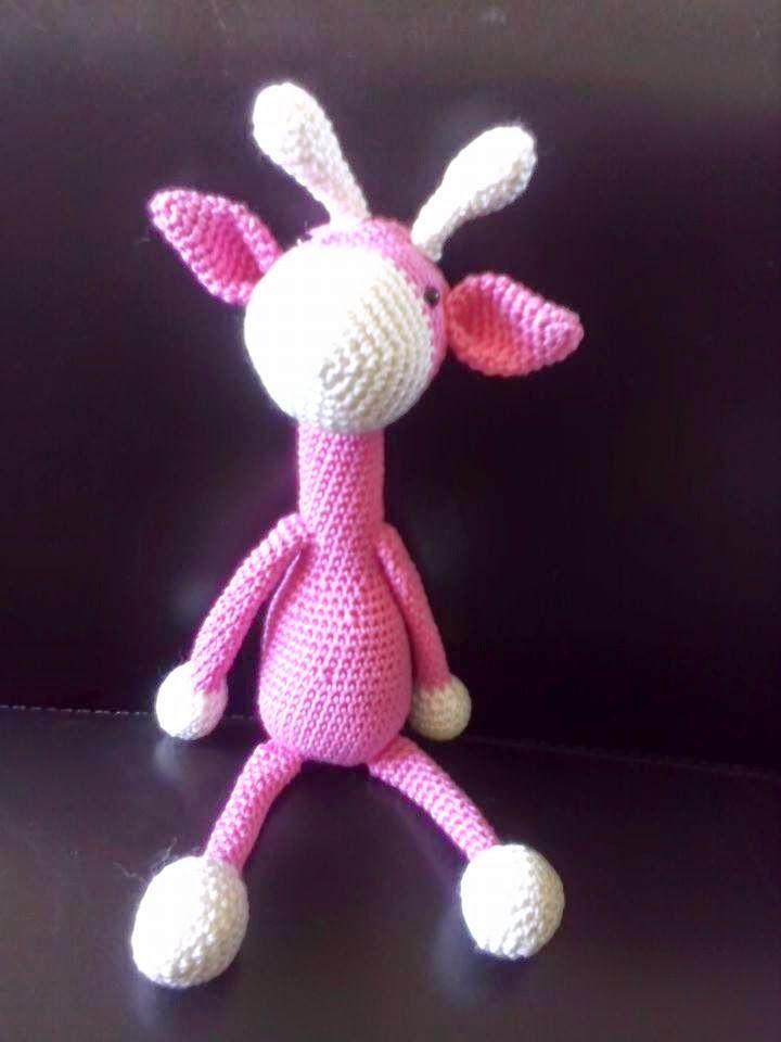 Roze Variant Gratis Patroon Google Op Giraffe Haken Crochet