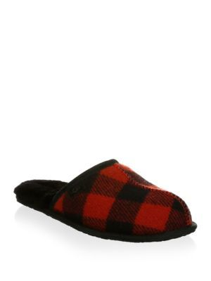 881addd94 UGG Scuff Plaid Slippers. #ugg #shoes # | Ugg Men | Slippers, Uggs ...