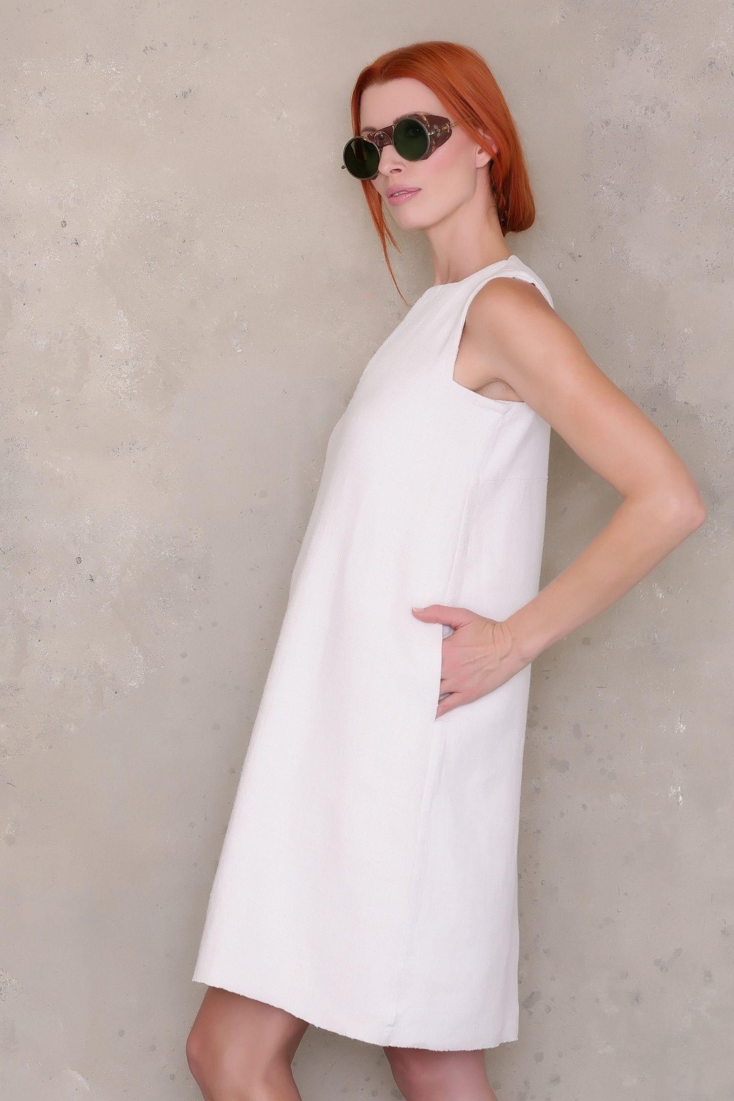 Sleeveless Shift Dress PDF Sewing Pattern Shift dress
