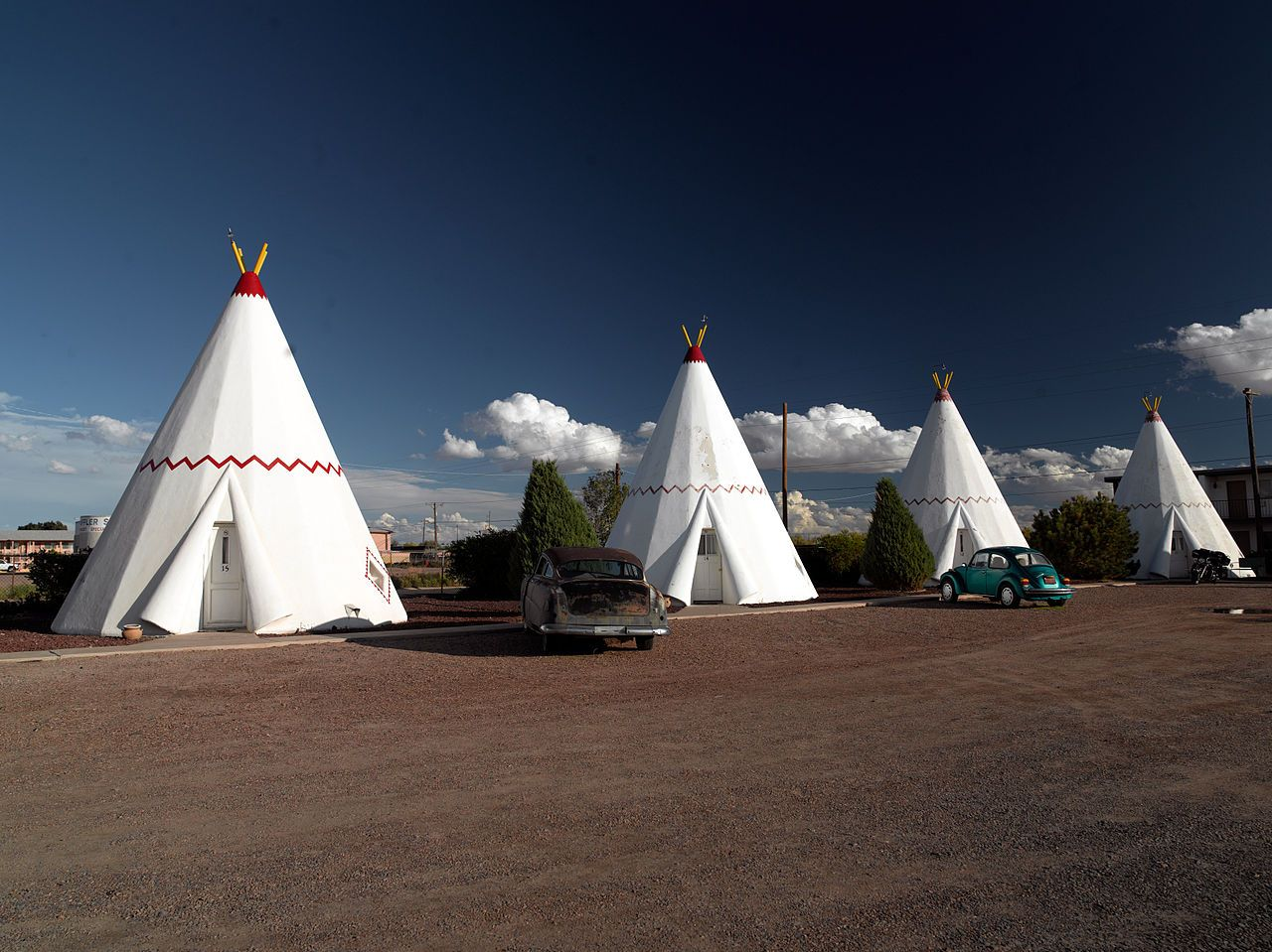 Wigwam Motel In Holbrook Ariz National Register Of Historic Places The Only Remaining Village Location Seven Originals