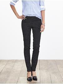 Sloan-Fit Dot Slim Ankle Pant