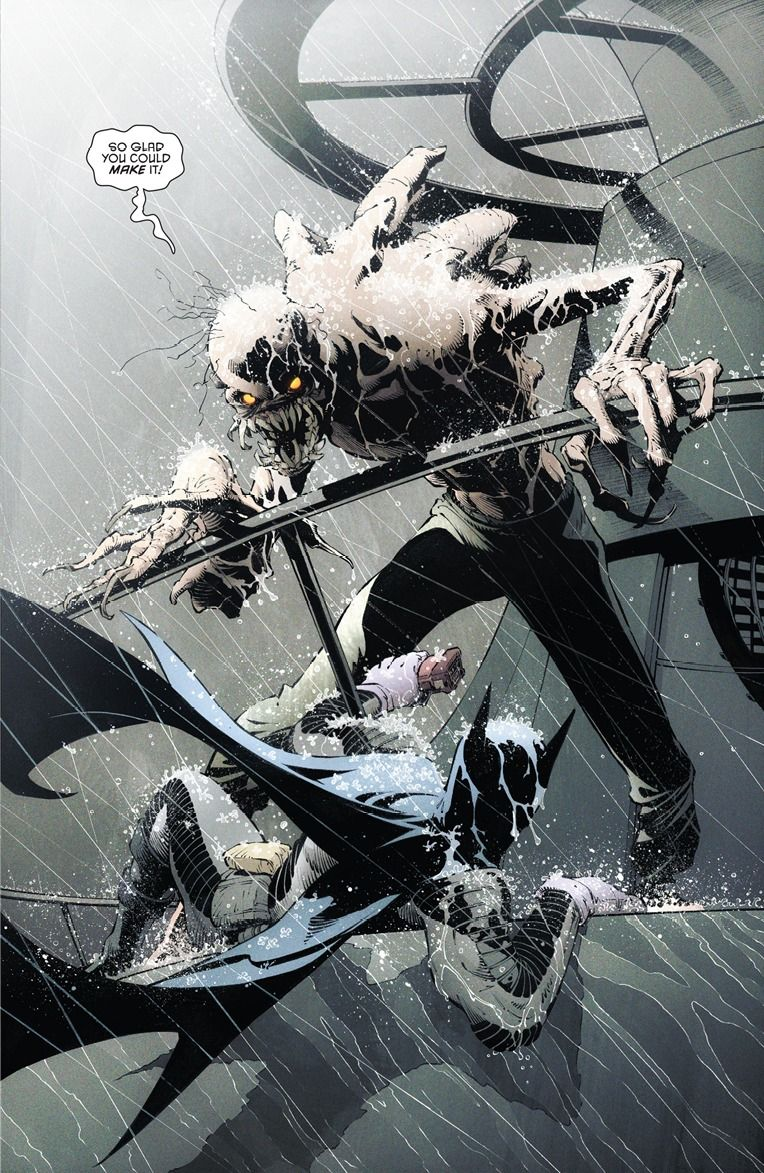 Batman #29 - Dark City by Greg Capullo, inks by Danny Miki *