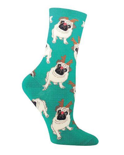 Pug Life JustSockz Crew Socks